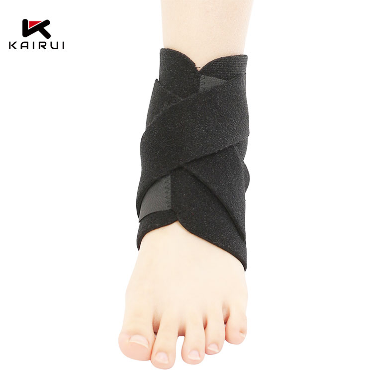 Free sample Lightweight sports braces supports elastic ankle guard