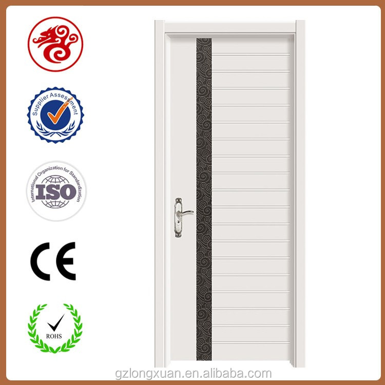 Environmentally friendly Classroom veneer panel moulded door wooden flash door