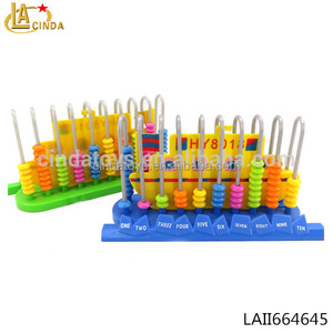 2018 newest very cheap gift items intelligence toy educational bead children abacus