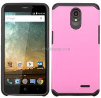 China cheap wireless accessories for ZTE Prestige N9132/Sonata 3 Z832 Case, PC Slim Fit Armor Hybrid Mobile Phone cover