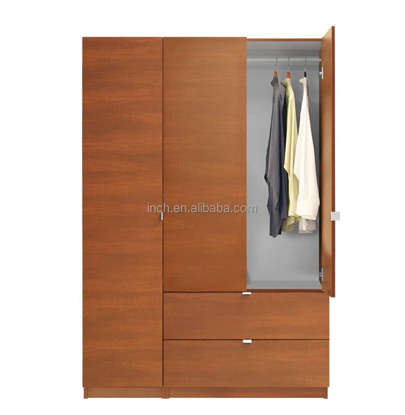 Half Height Bedroom Wood Small Wardrobe Designs Product On Alibaba