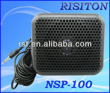 nsp-100 external speaker for car radio mobile radio external speaker ham  radio external speaker
