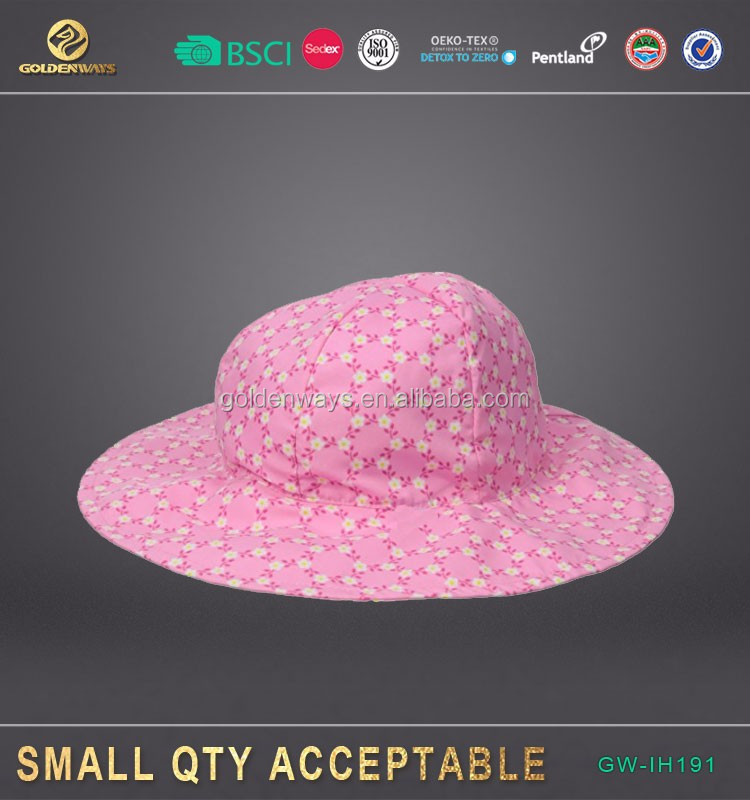 Chinese Supplier UPF 50+ UV Ray Sun Protection Wide Brim Baby Sun Hat