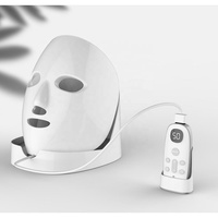 2020 Newest OEM ODM Approval IR850nm Red Light 660nm LED Mask Led Facial Mask Photon Light Therapy Machine Led Face Mask