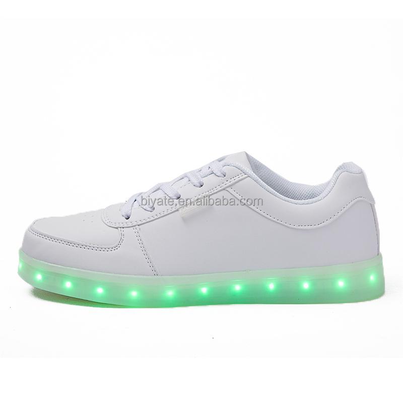Led Light Up Shoes Men Fashion Colorful Led Leather Shoes Led Shoes For Men Buy Led Lights For Shoes Led Light Shoes Shoes Led Product On
