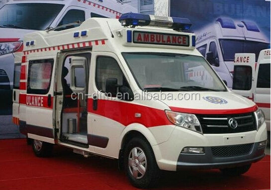 2015 Top quality Dongfeng Diesel/Gasoline LHD/RHD U-Vane Ambulance DFA5043XJH3A1M with Commins engine