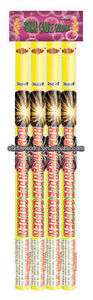 Ten Shots Roman Candle Golden Color Fireworks