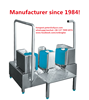 Chinese factory-direct supply best price WALK THROUGH AUTO BOOT WASH machine boot washer for slaughter house