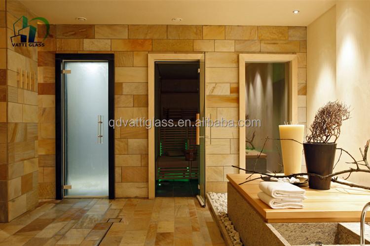 Glazen Deur Prijs : Gehard glazen deur prijs gehard glas sauna deur zandstralen gehard
