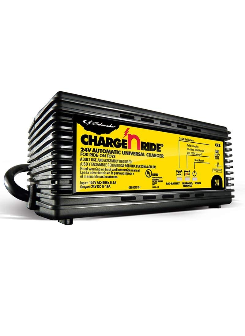 Schumacher CR8 Schumacher CR8 1.5A 24V Universal Charger for Ride-on Toys