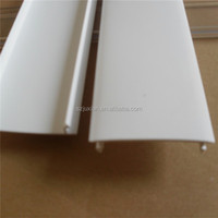 pvc profile manufacture ABS extrusion plastic factory