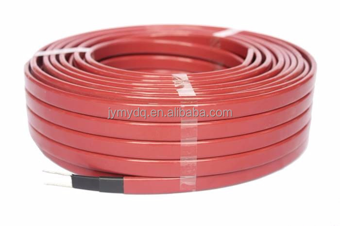 Low voltage pipe tracing floor waterproof heating cable