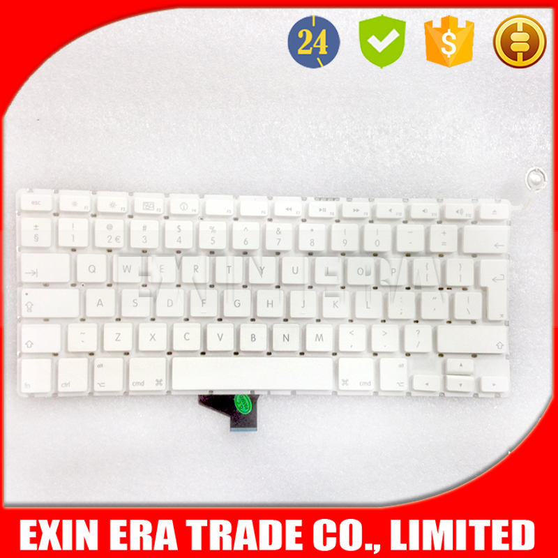 Laptop UK keyboard for macbook 13.3'' A1342 layout 2009 2010 2011 2012