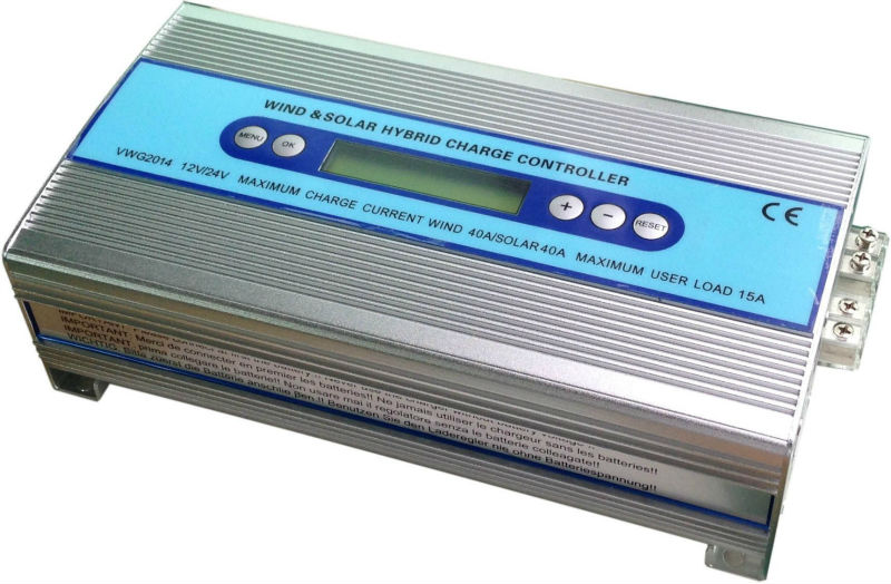 12v 24v Stand-alone Pwm Wind Solar Charge Controller