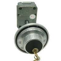 Shopping website LG 3390 U.L. Listed 3 Wheel Mechanical Combination Lock with deadbolt for safe box/gun safe/vault for sale