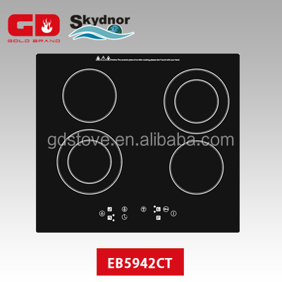 New touch control ceramic hob with glass/electrc ceramic stove/induction electric cooker