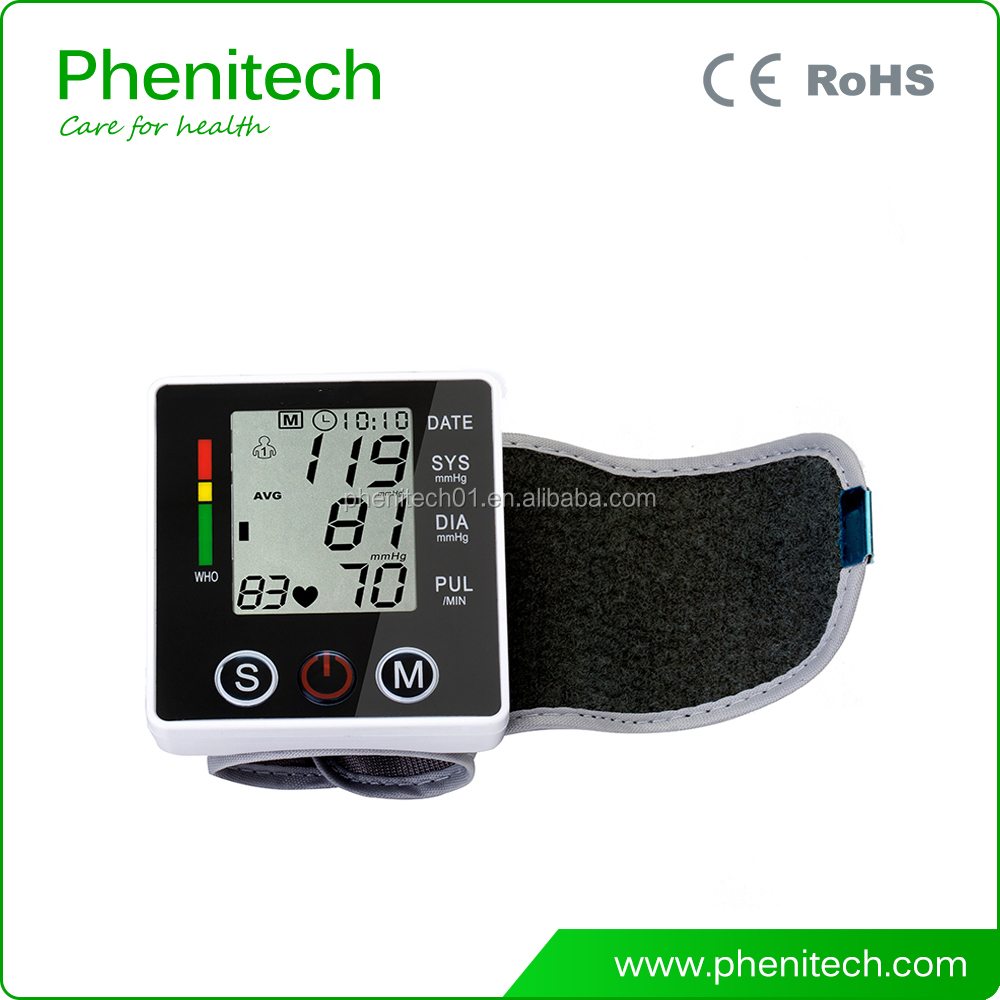 2017 Intelligent Presurize Digital Blood Pressure Wrist Monitor