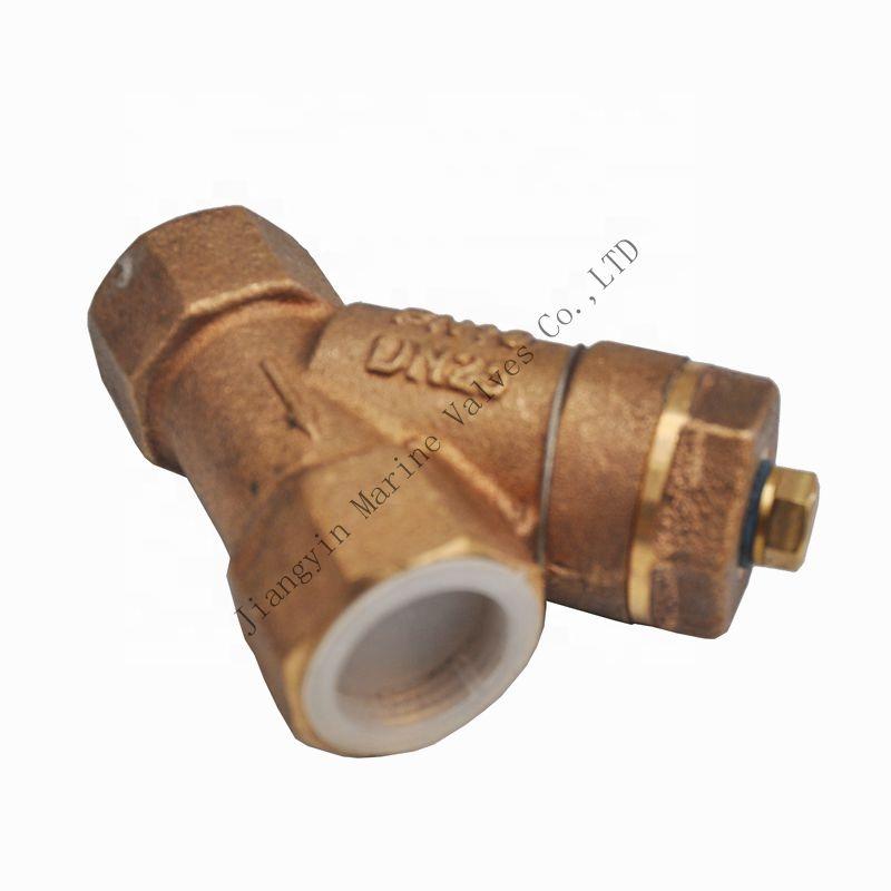 """DN20 Messing Filterventil Y Typ Siebventil Wasser Sanitär Rohr Ventil 3//4 /"""""""