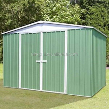 Metal Garden Storage Building And Low Cost Steel Poultry Shed