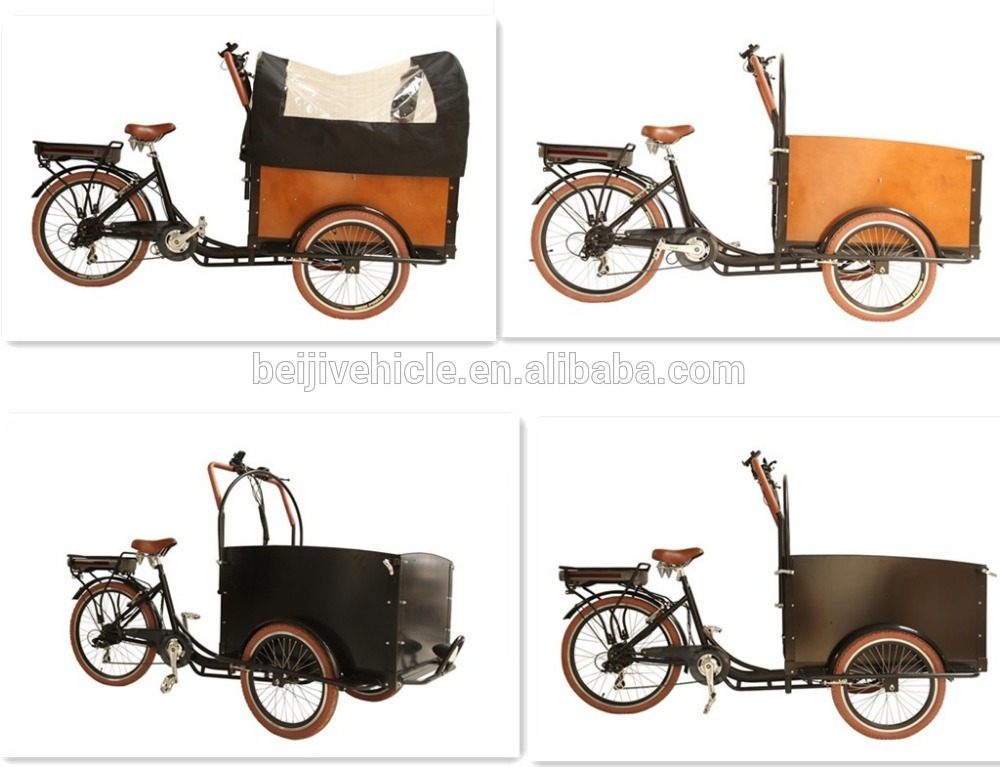 New Design Dutch Cargo Coffee Bike 3 Wheel Cargo Bikes For Sale