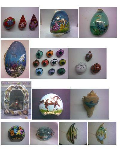 Indian Decorative Sea Shell Arts