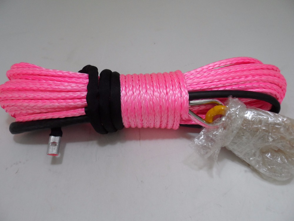 Бесплатная доставка 12 мм * 30 м синтетический трос лебедки, Свмпэ веревка, Лебедка кабель для 4wd