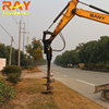 Auger drill bits drilling rig gearboxes ground earth auger machinery for excavator