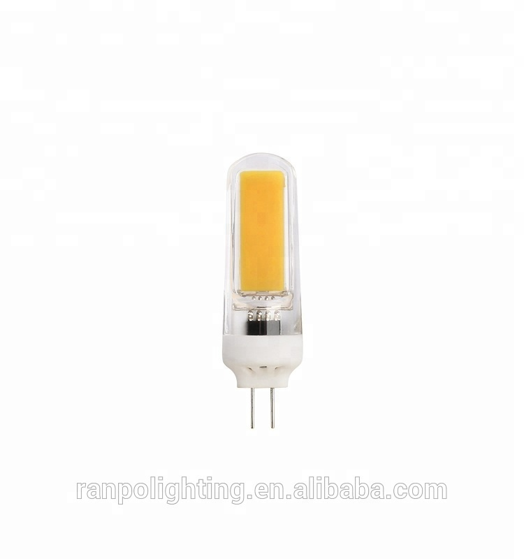 High Quality Dimmable G4 G9 LED Lamp 3W COB Silicone Crystal LED Corn Bulb 110V 220V