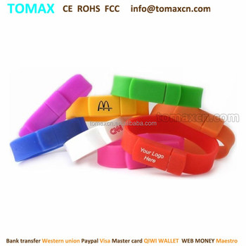 Free custom logo Alibaba wholesale cheapest promotion gift silicone wristband USB flash pen drive 64G 32G 16G 8G 4G 2G 1G 512M