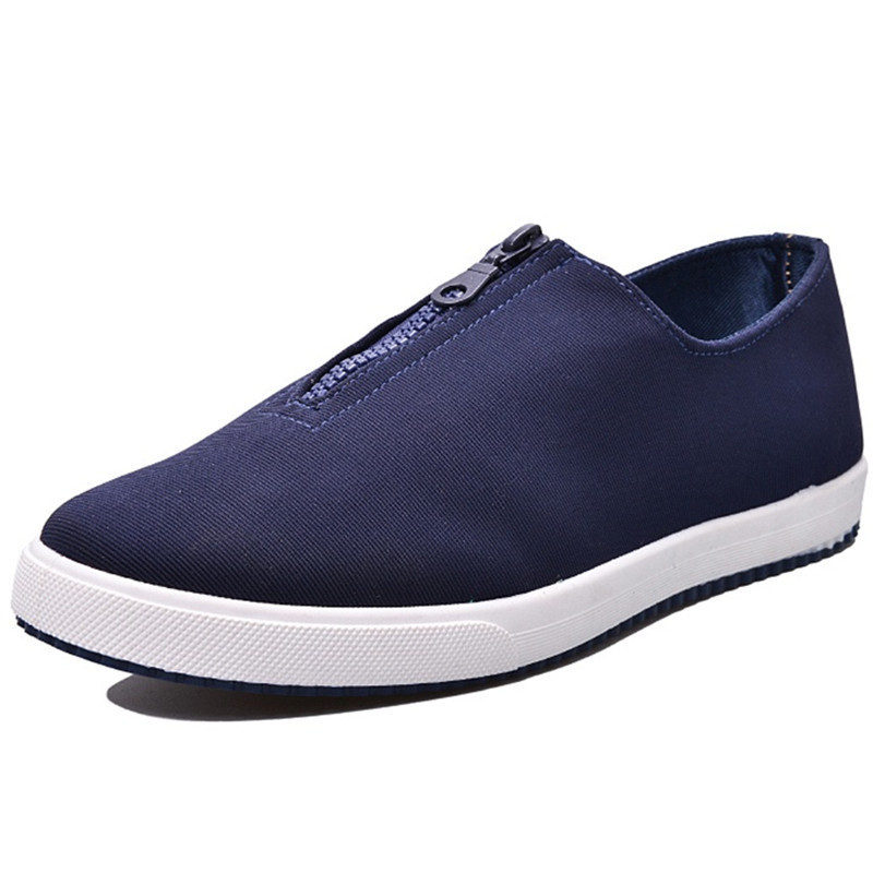 7f00f51d96cf Get Quotations · New 2015 Sneakers Shoes Man Casual Breathable Canvas Men  Flats Slip On Platform Sneakers Chaussure Homme