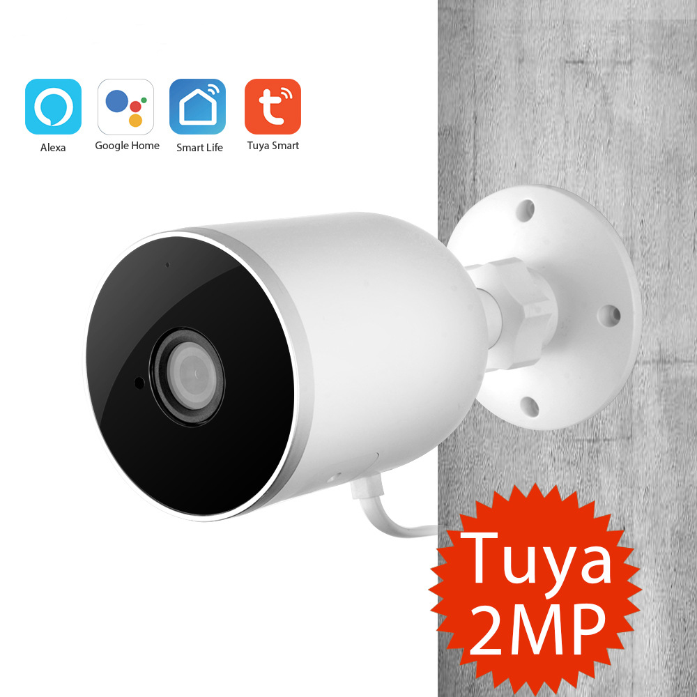 Tuya Outdoor Smart Home Security Camera Outdoor Smart Wifi IP Camera