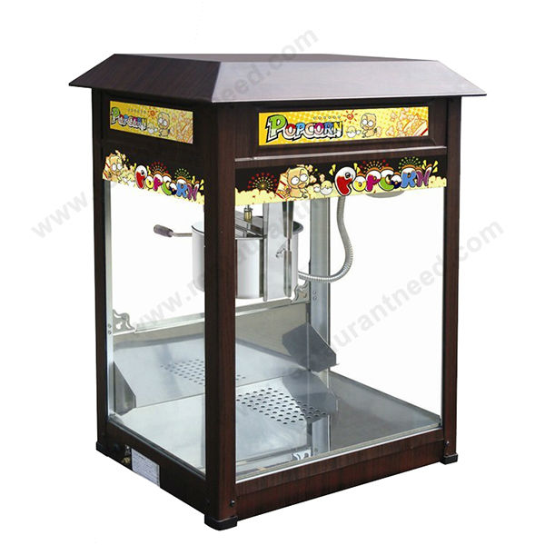 Europe Design Commercial Automatic Coin Operated Hot popcorn maker
