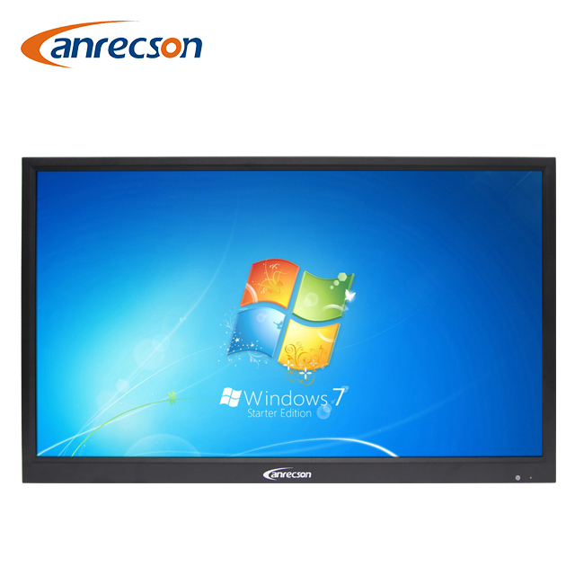 Strong metal chassis 84 inch wide screen 16:9 HD Desktop CCTV LCD Monitor as broadcast equipment