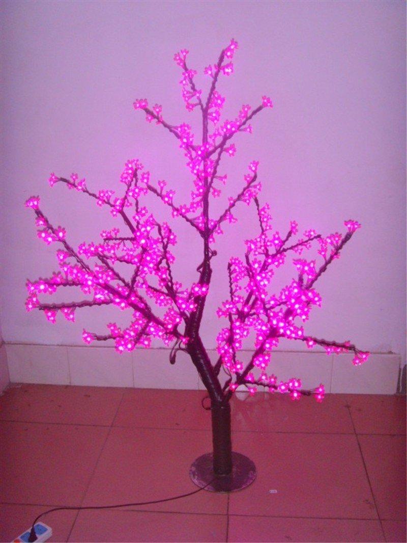 Acryl Led Tree Abs Lighting Cherry Artificial Sakura