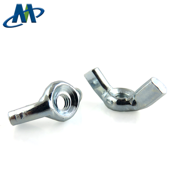 China Manufacturer M4 Carbon Steel Zinc Plated Butterfly Wing Nut