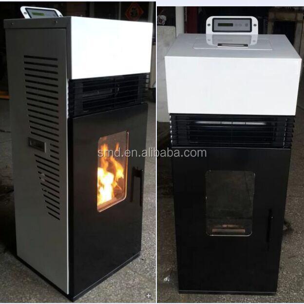 smartmak decorative wooden fireplaces small pellet stoves. Black Bedroom Furniture Sets. Home Design Ideas