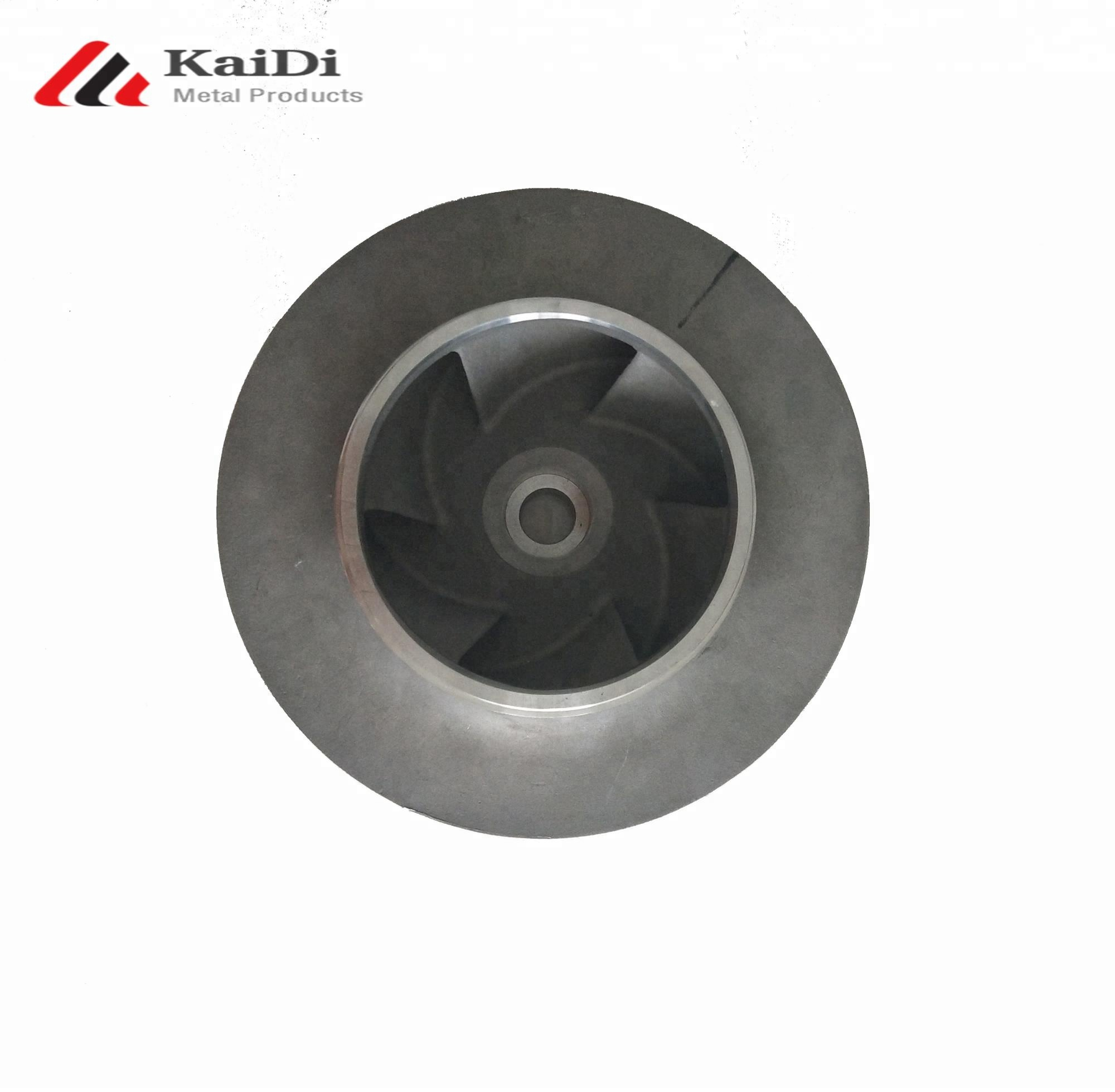 Top quality silica sol precision casting water pump impellers with drawing