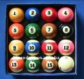 high quality and beautiful billiard ball