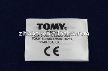Tomy Ce Toy Care Label Made In China