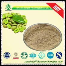 UV/HPLC 100% natural green coffee powder