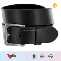 Men's Casual Full Grain Leather Belt 1-1/2