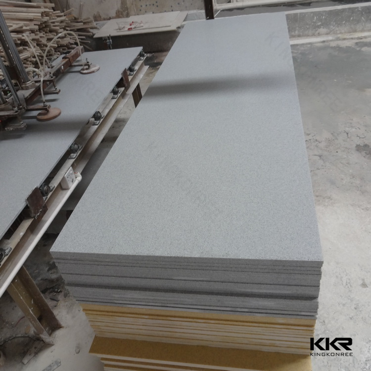 Hot sale!!! kkr high desity acrylic solid surface,zero water absorb acrylic stone