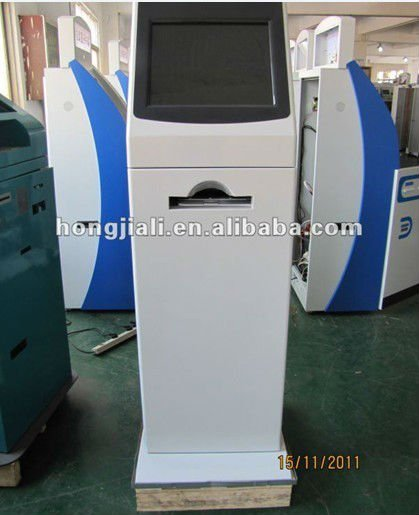 Teeth whitening Kiosk For Self Payment / Information Checking