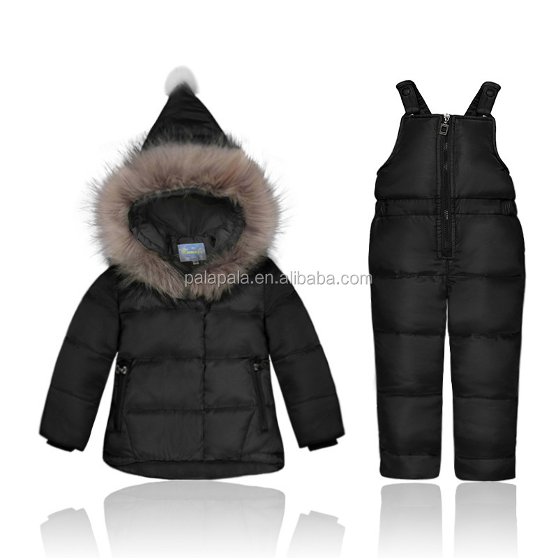 Winter warm Snowsuit Baby Down Romper Outdoor Infant Overcoat Clothes Girls Overall for Boys Onesie Infantil Kids Jumpsuit