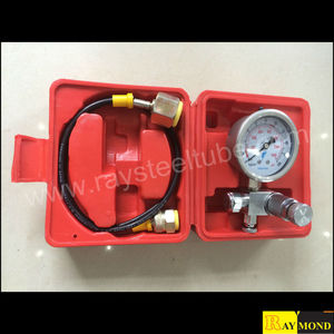Nitrogen Gas Charging Kit List for Hydraulic Hammer Breaker