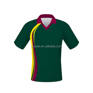 New product custom design sublimation printing cricket jersey men sport t-shirts cricket