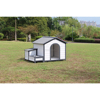 Novelty Custom Made Big Dog Wood House Outdoor