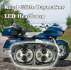 Best Price Head Lamp 2 * 5 3/4 inch Dual headlights LED motorcycle accessories for Harley Road Glide Headlight