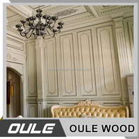 Eco-Friendly 3D Effect Wood Laminate Decorative Wall Panel For Interior