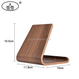 High quality wholesale wooden holder for ipad display stand tablet